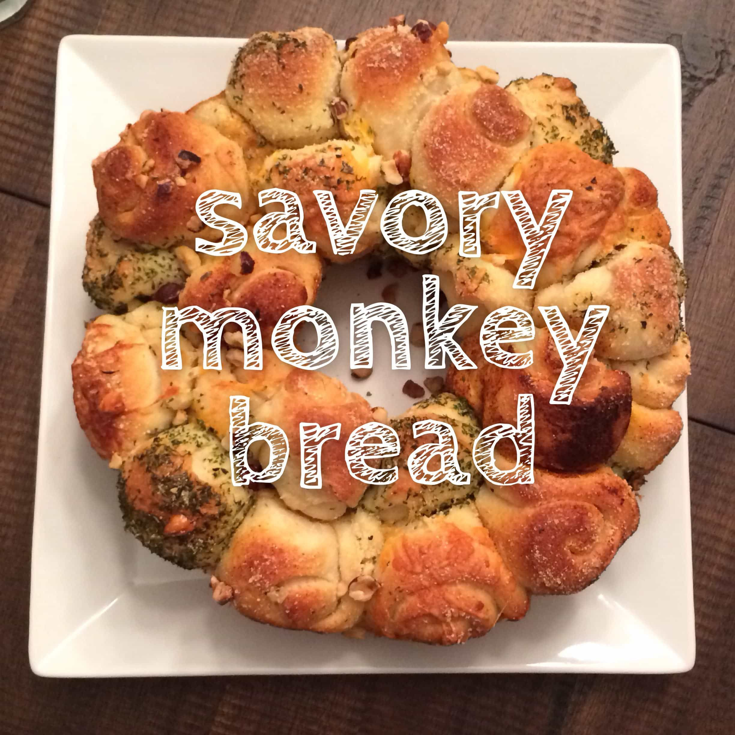 Pull Apart Monkey Bread With Nuts