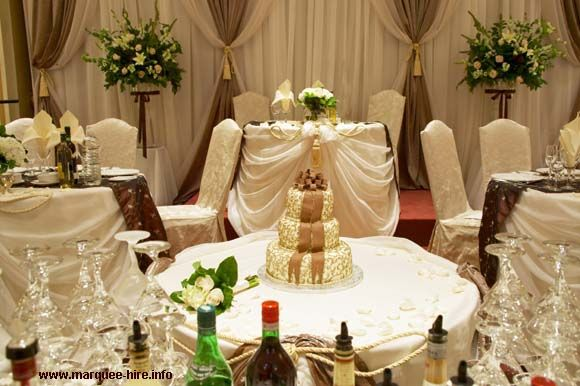 Brown And Gold Wedding Ideas: Wedding Decorations