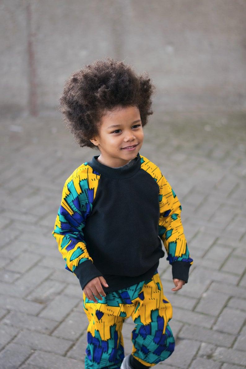 Boys African Print Crew Neck Sweatshirt Ankara Print Yellow Etsy Crew Neck Sweatshirt Terry Sweatshirt Unisex Sweatshirt [ 1192 x 794 Pixel ]