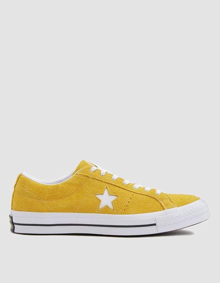 Converse   One Star Sneaker in Mineral Yellow  62cbffac6