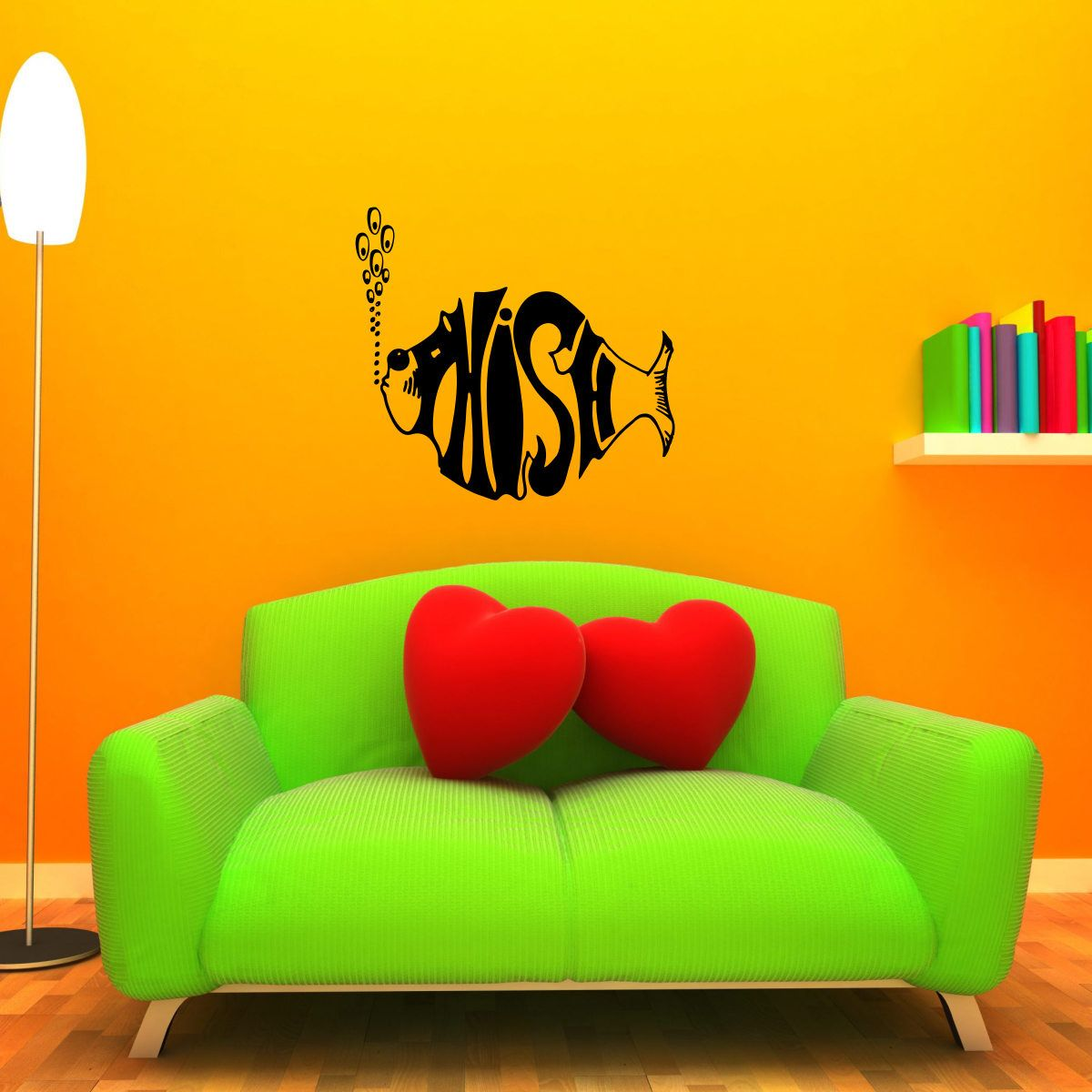Phish Wall Decal - LARGE Mural Grateful Dead Sticker by ...