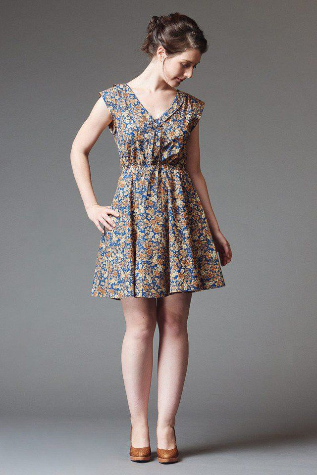 Deer and Doe - Reglisse Dress | sewing patterns | Pinterest | Nähen ...