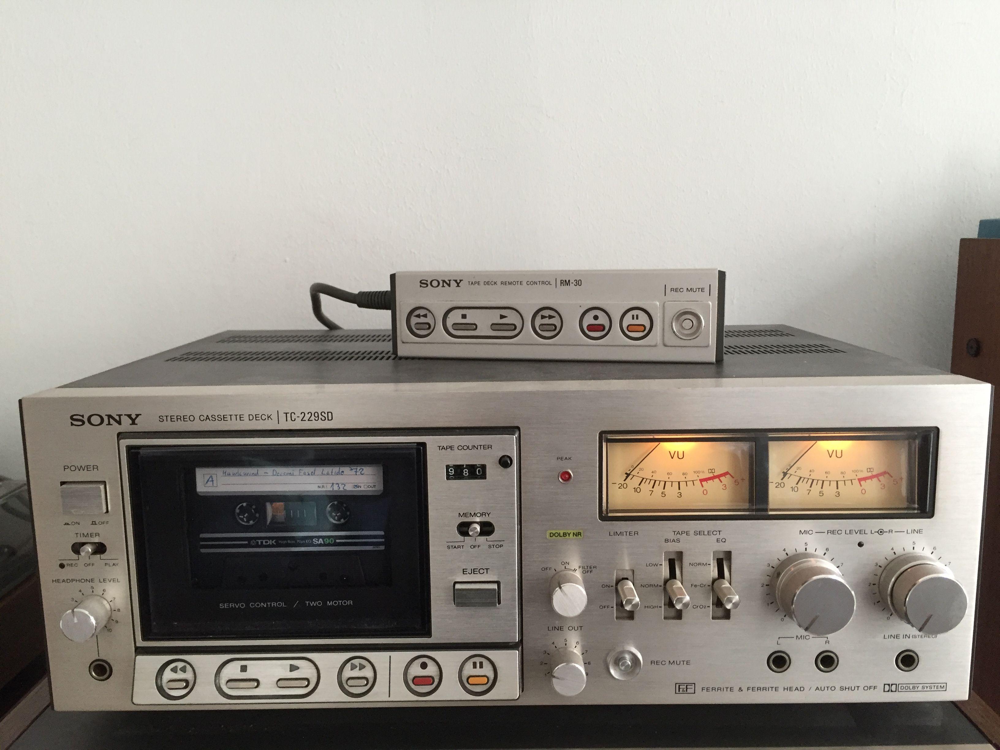 Sony Tapedeck TC-229 SD (https://www.ebay-kleinanzeigen.de
