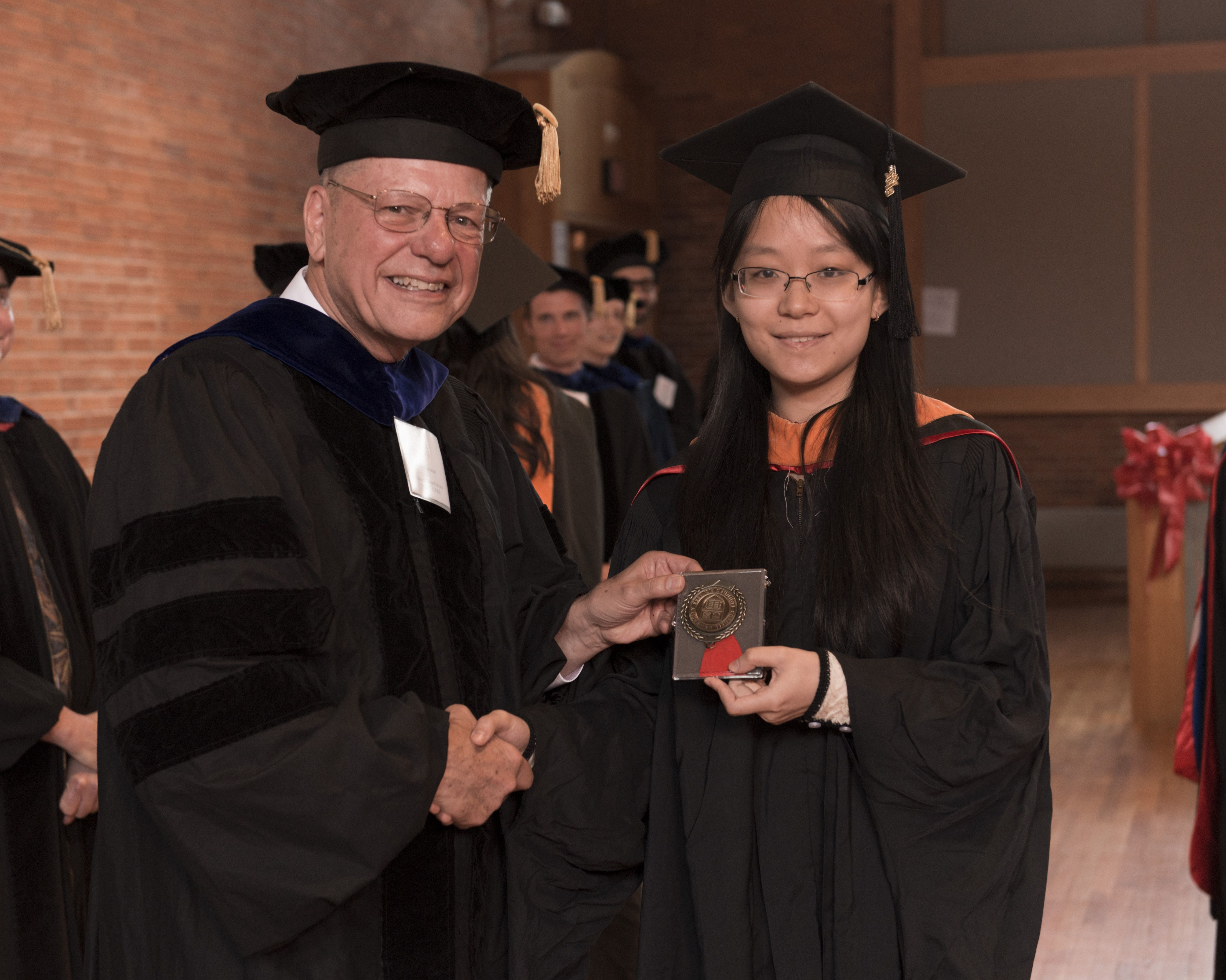 Cornell University's School of Operations Research and Information Engineering MEng & PhD Commencement Recognition Ceremony