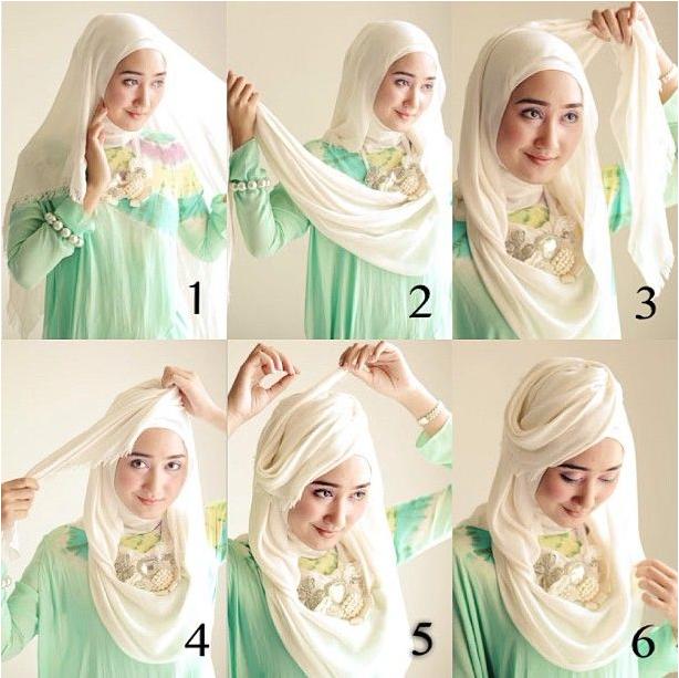 Tutorial Hijab Untuk Pesta Beautiful Hijab Hijab Tutorial Tutorial Hijab Pesta