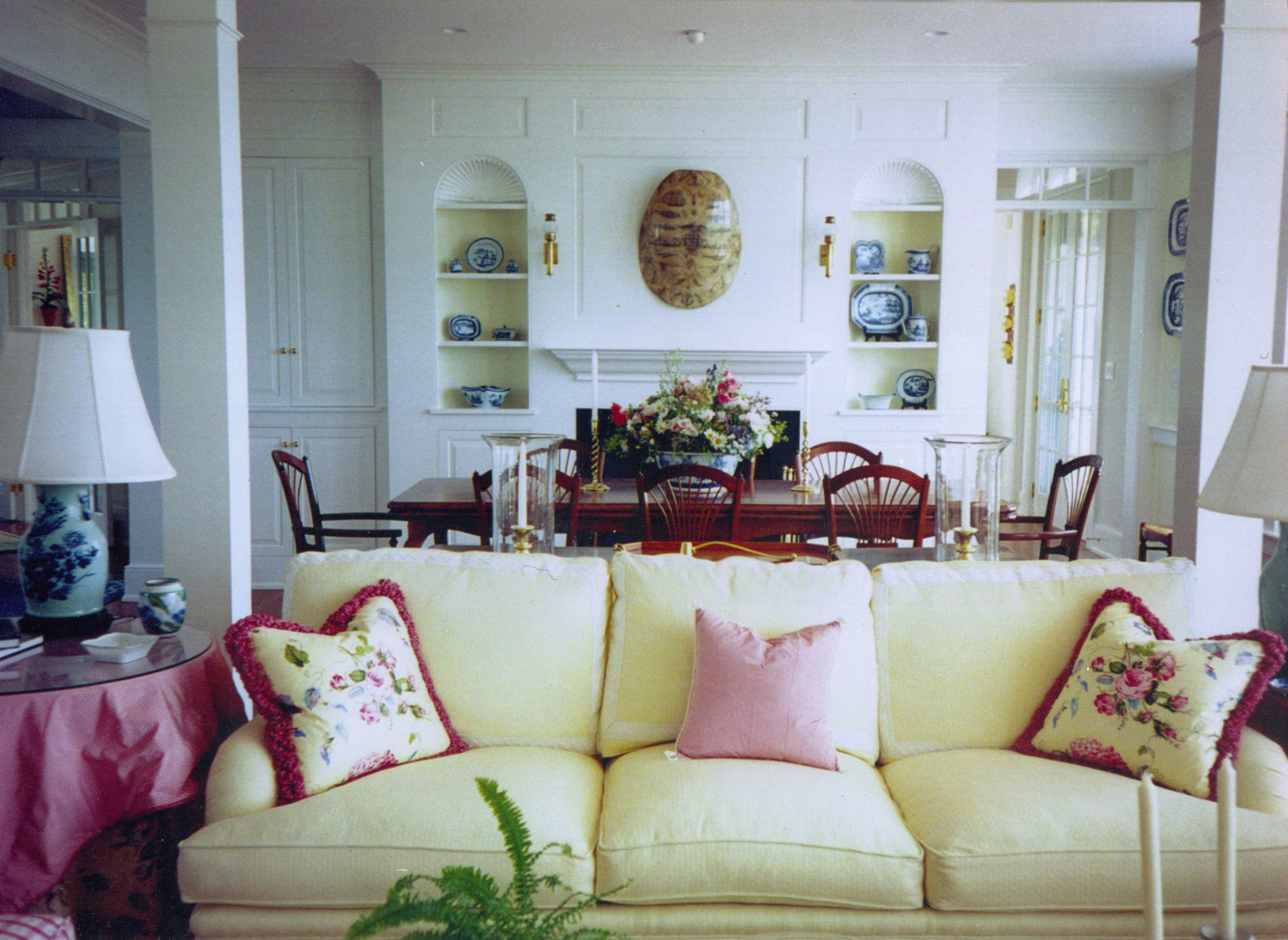 Home interior view point of view interiors llc  nantucket ma  new home design