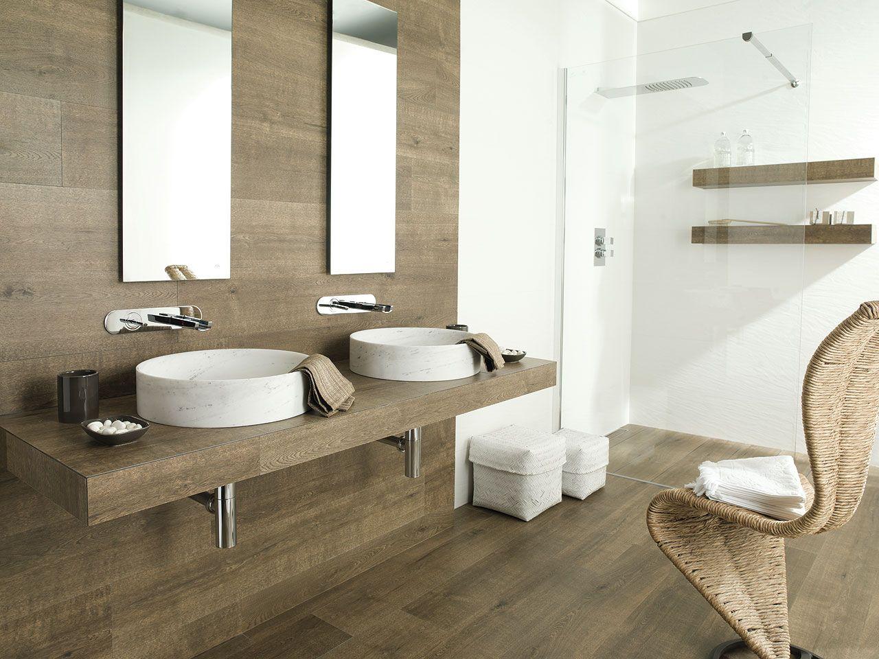 Cottage bathroom floors - Porcelanosa S Ceramic Tiles For Natural Stylish Bathroom Floor Tiles Par Ker Montana Cottage