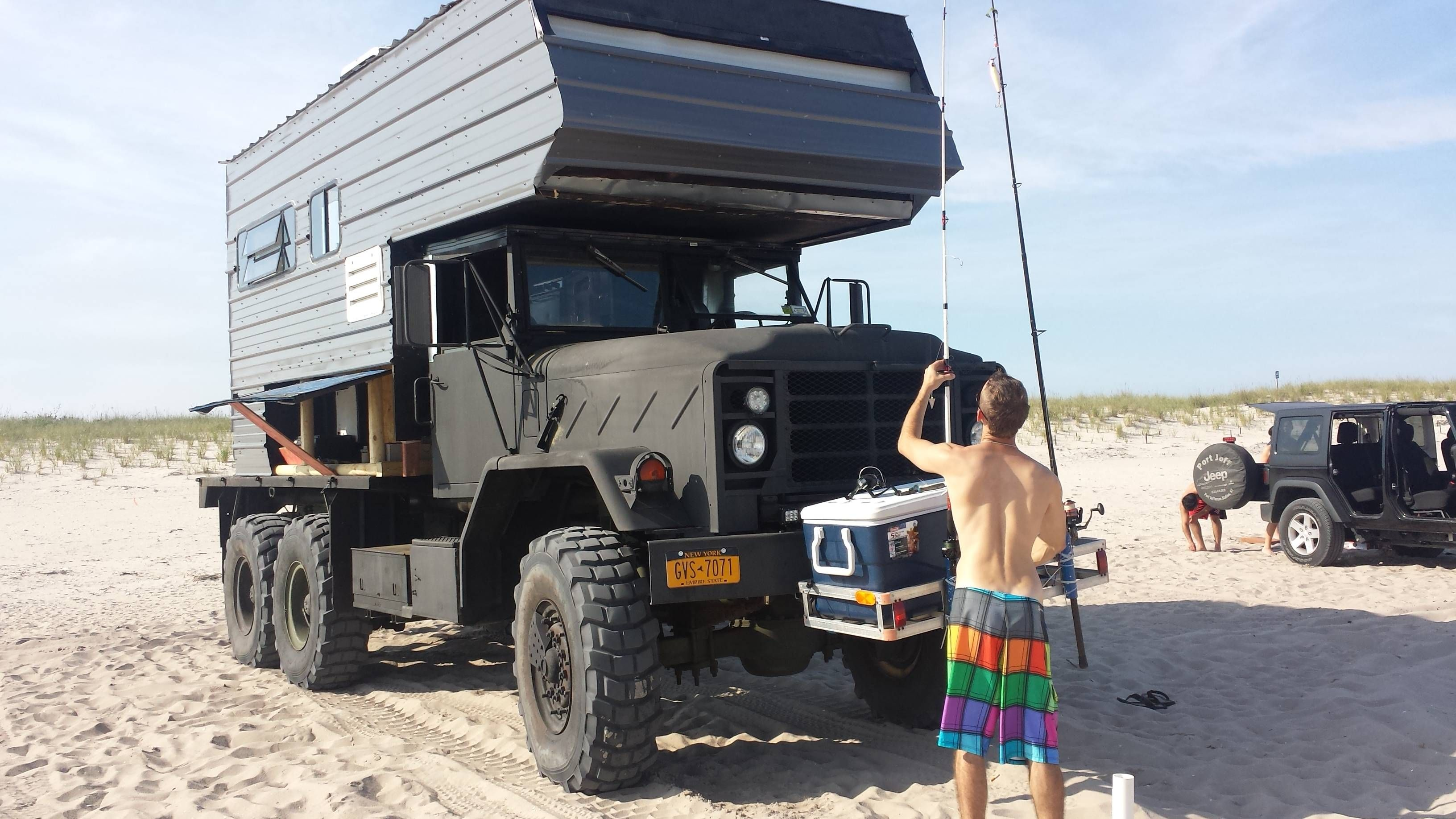M35a2 Camper Conversion