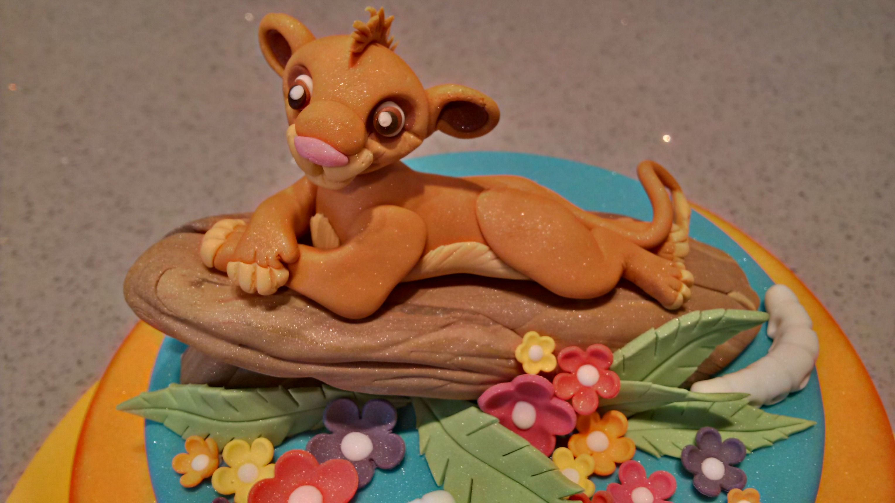 Brilliant Simba Lion King Birthday Cake Topper With Images Lion King Funny Birthday Cards Online Barepcheapnameinfo