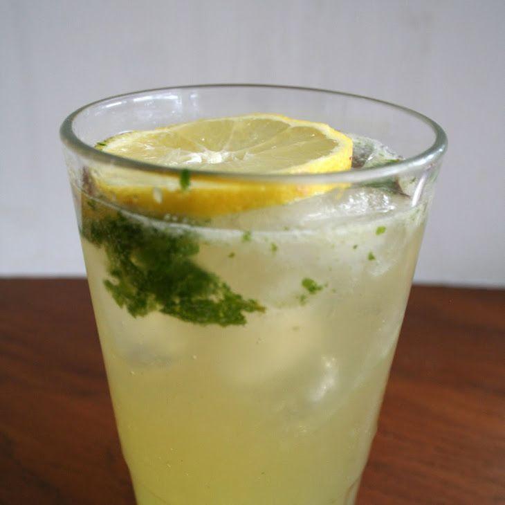 Lemon Ginger Mocktail Mojito Recipe Yummly Recipe Ginger Mojito Mocktails Mojito Recipe