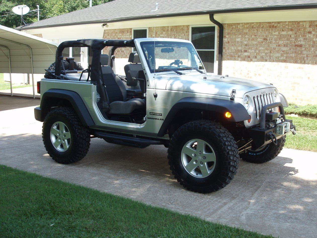 2008 jeep sahara wrangler with bds 3 lift kit 35 goodyear duratrac m t tires and pro comp wheels maximum offroad jeeps pinterest pro comp