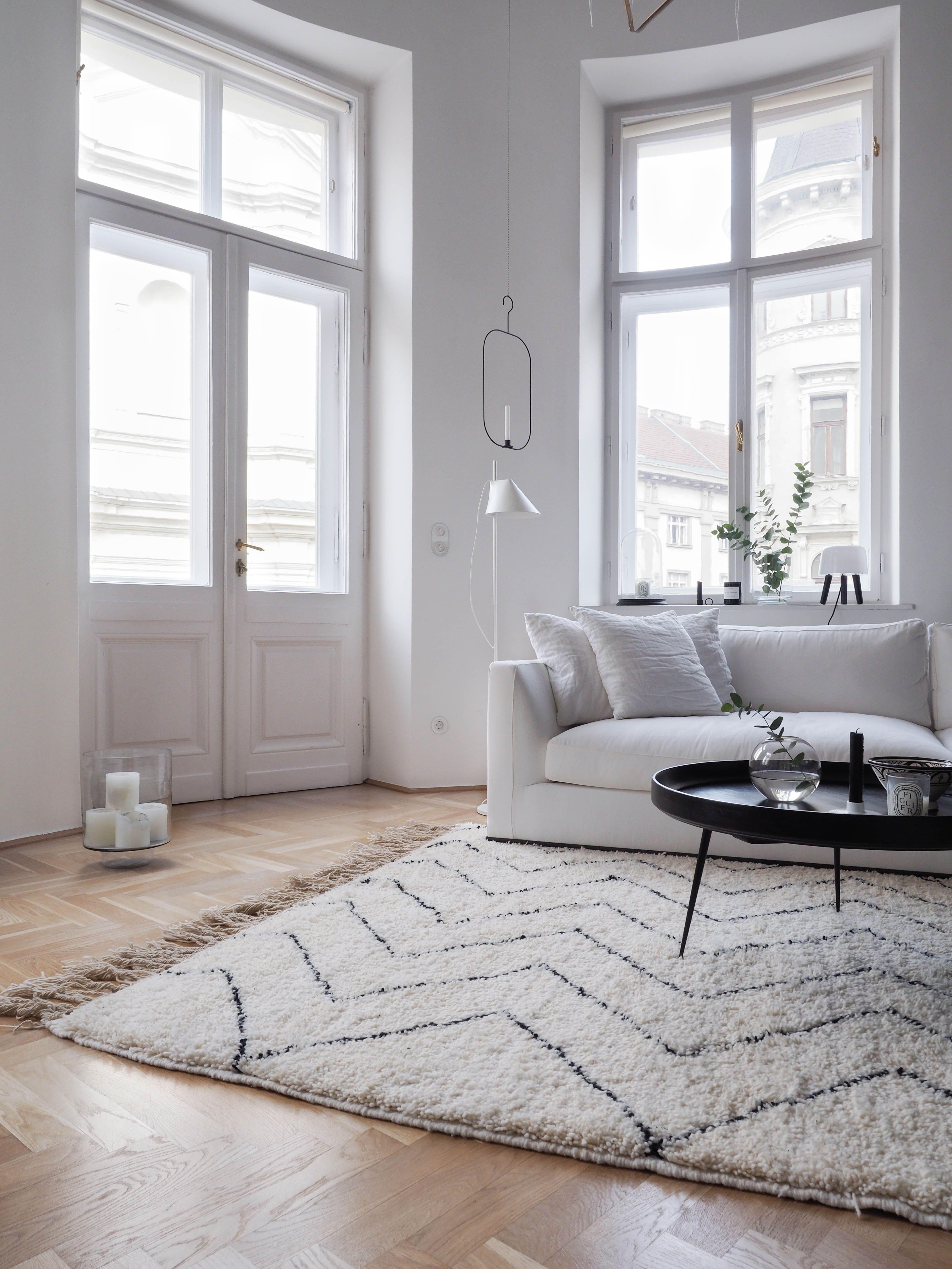 Mein Neuer Original Beni Ourain Teppich Von Touda Aus Marokko Teppich Wohnzimmer Wohnzimmer Teppich Teppichfarben