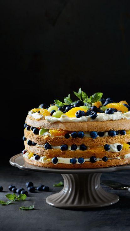 Tort Owocowy Z Bitą śmietaną Kuchnia Lidla Lidl Polska