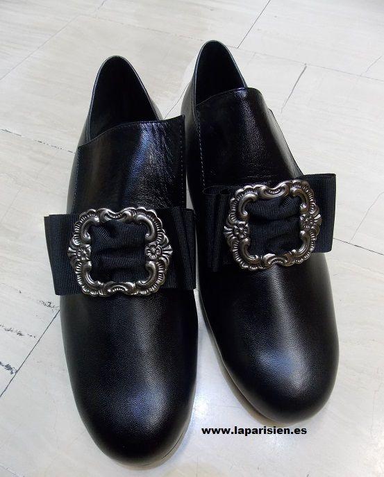 La parisien Zapatos caballero [zapato caballero.] - Piel, color negro,  especificar número al hacer el pedido. IVA y portes de envío incluidos en  el precio.
