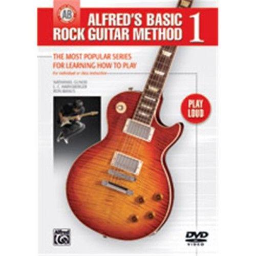 Alfred's Basic Rock Guitar Method, Bk 1 The Most Popular