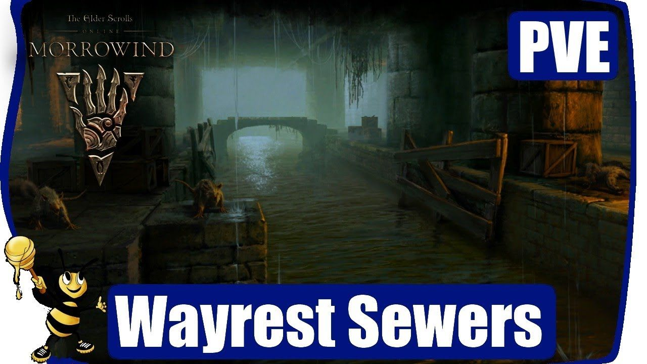 ESO MORROWIND PVE DUNGEON - Wayrest Sewers 1 #mmo #games