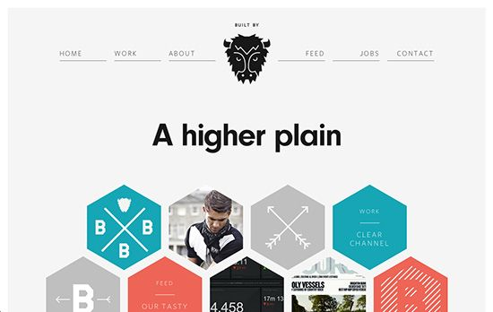 Hexagons: Keeping up with Web Trends - WebDesignCrowd