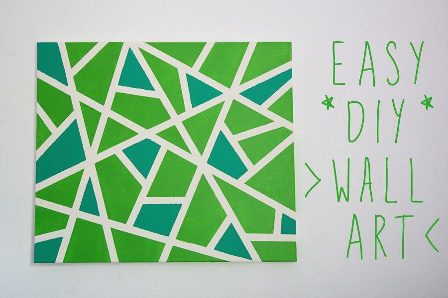Diy Wall Canvas Ideas - Amazing Bedroom, Living Room, Interior
