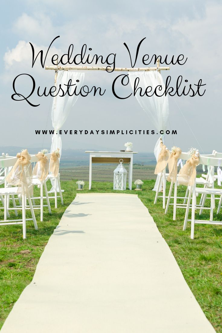 It's just an image of Insane Questions to Ask Wedding Venue Printable
