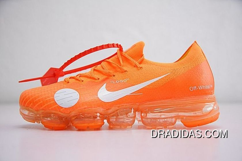 Men Off White X Nike Air VaporMax Running Shoe SKU:128531