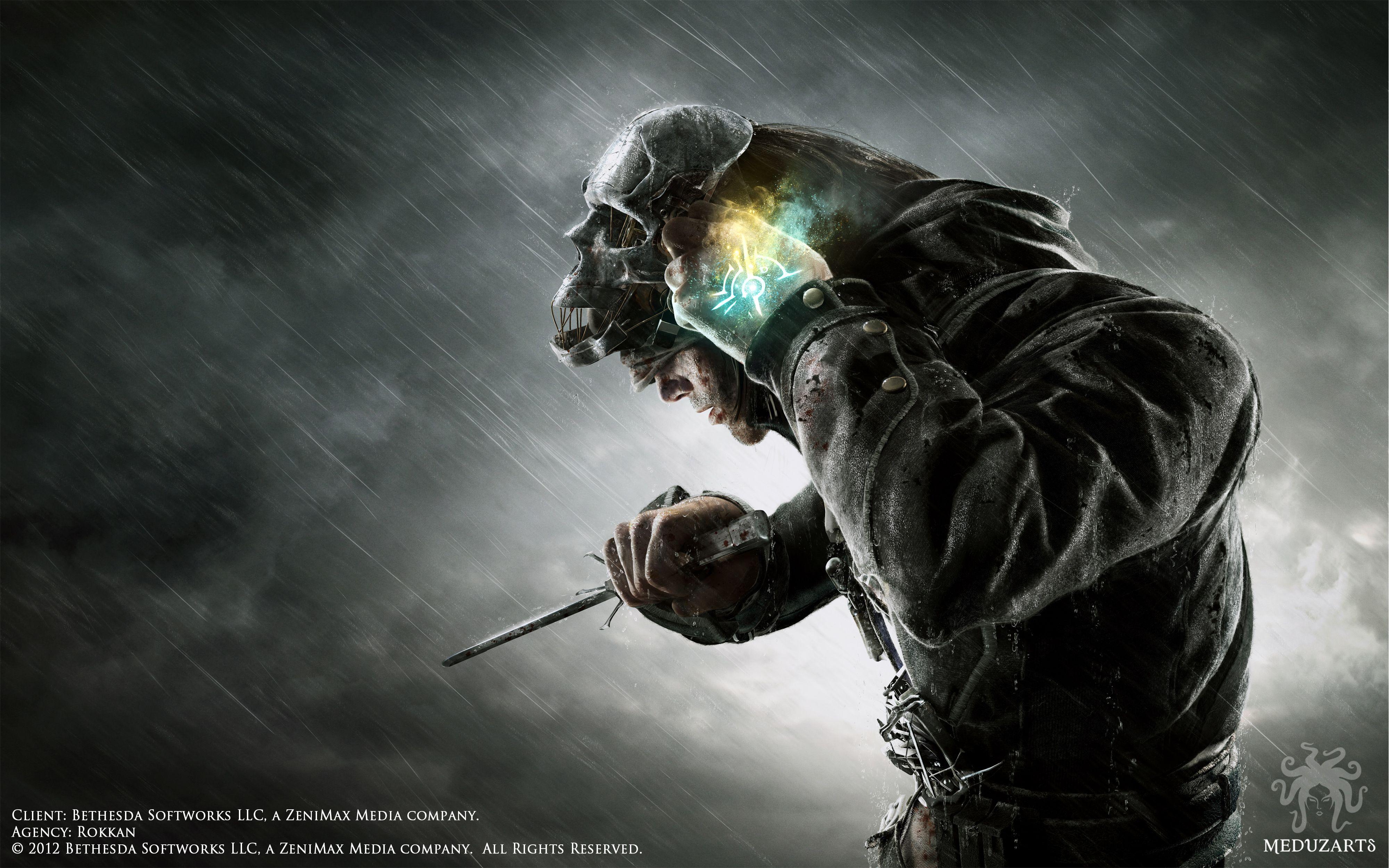 Dishonored Dishonored Hd Wallpaper 4k Dishonored Mask