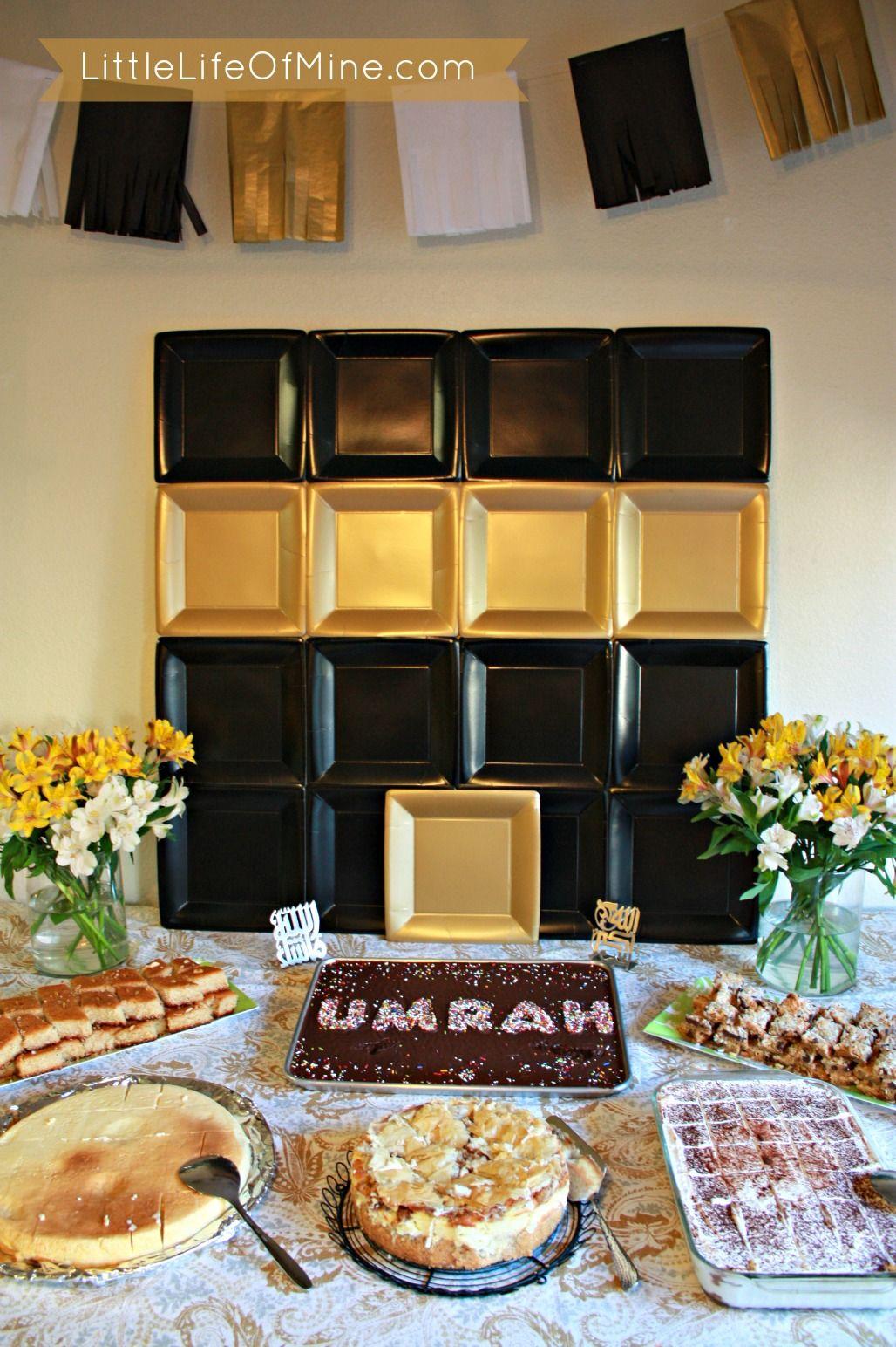 Umrah Banner: Eid Party, Eid Mubarak
