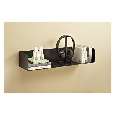 Decorative Wall Shelf Black 1 Number Of Shelves Products