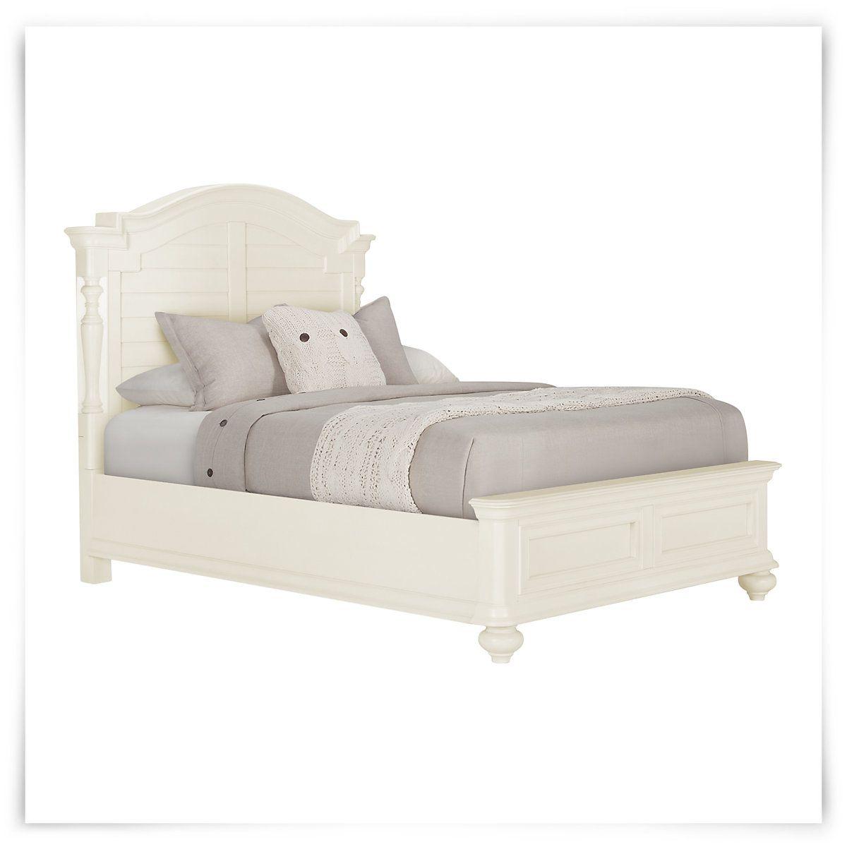 placid cove white panel bed fla master bedroom pinterest