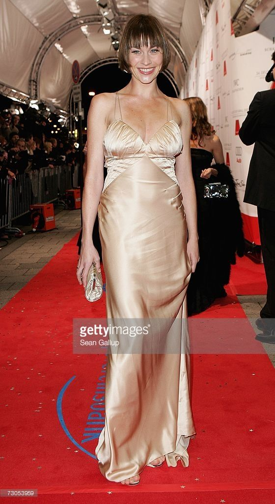 Actress Christiane Paul Attends The 34th Annual German Film Ball