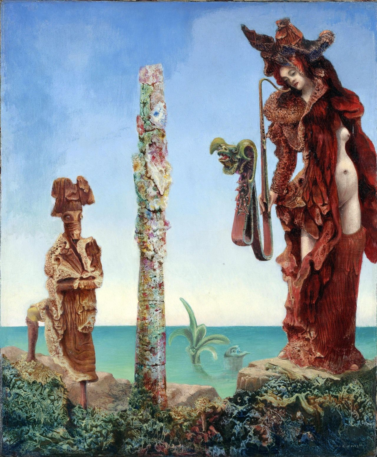 Max Ernst - Napoleon In The Wilderness