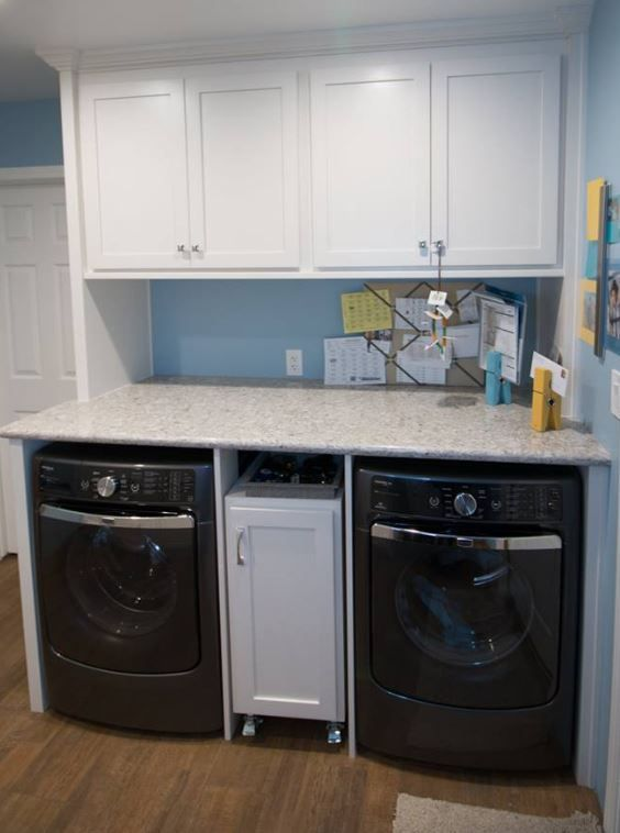 Rolling Laundry Cart For Storage Between Washer And Dryer Kitchen Cabinets In Bathroom Cabinet Design Design
