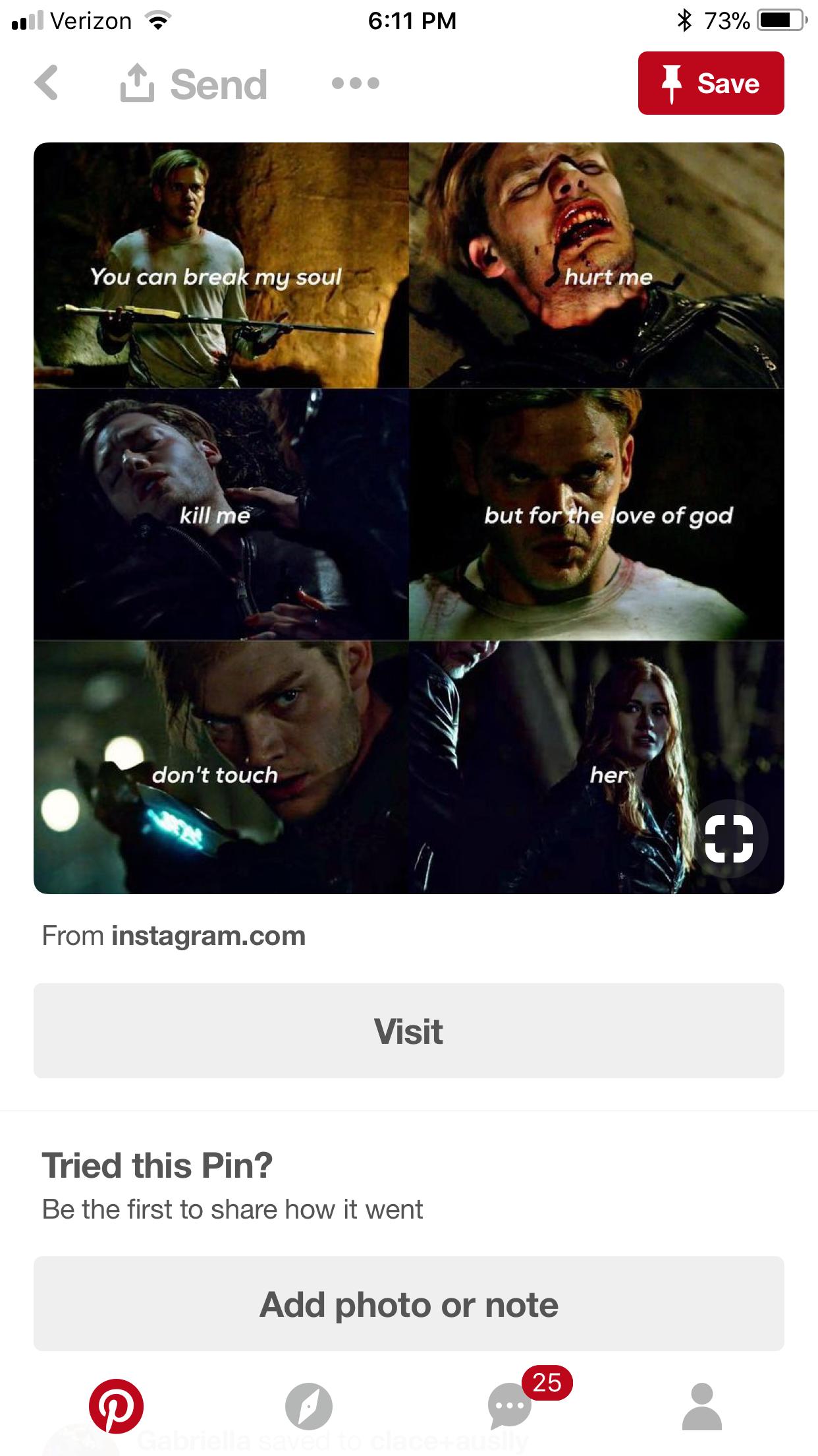 This Is So Depressing Shadowhunters
