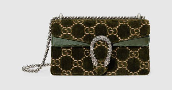 0ad0d0ddbf71 Dionysus GG velvet small shoulder bag   Handbags   Pinterest ...