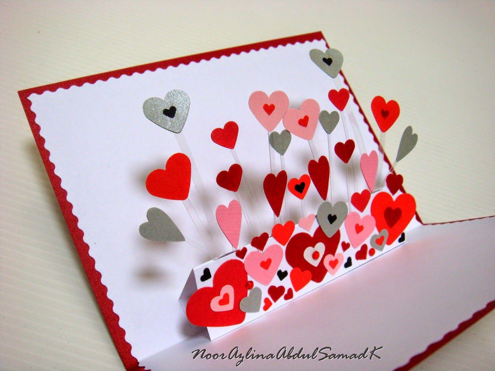 AZLINA ABDUL LOVE Pop Up Card