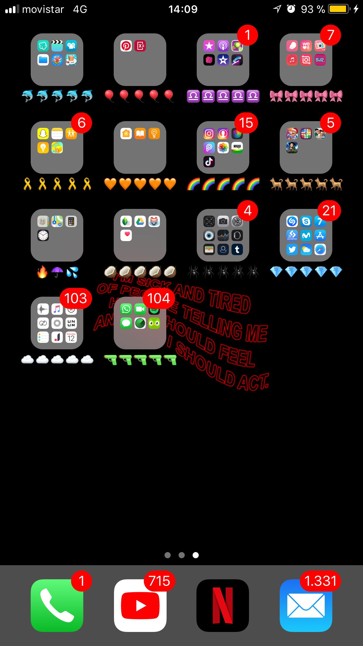 How to organise your phone home screen Organize phone