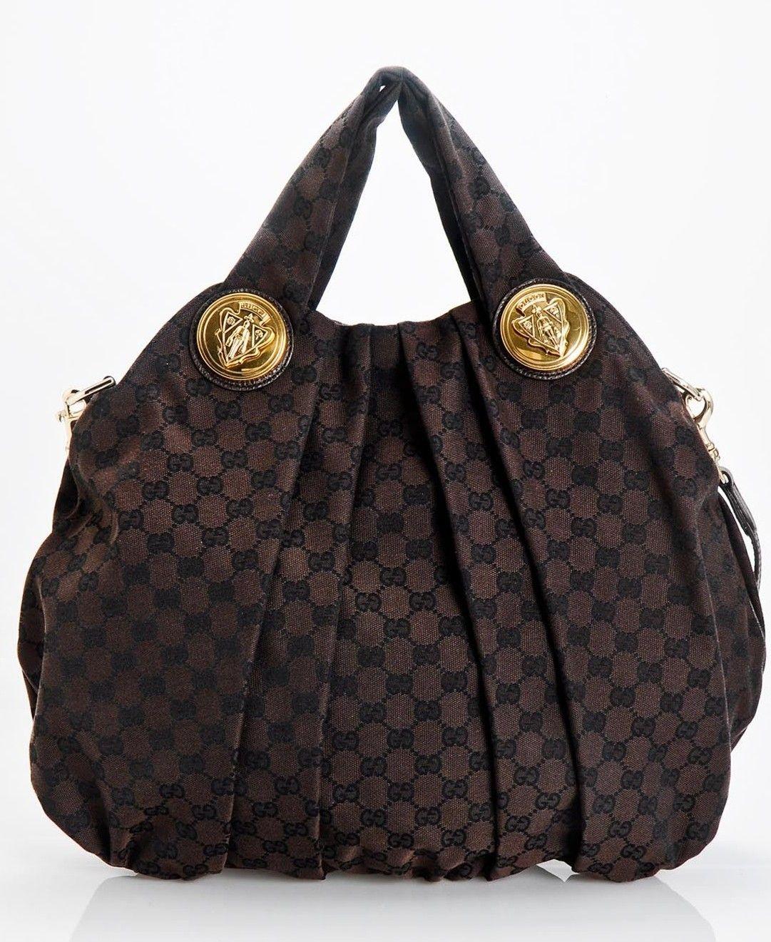 85d9a630e108 Gucci Monogram GG Logo Tote Bag ♥✤