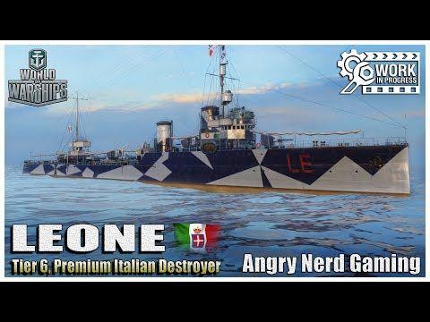 "World of Warships: The LEONE ""WIP"", Italian Tier-6, Premium"