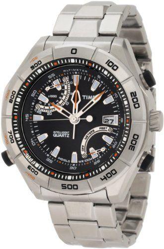 b9d725006ae Timex Men s T2N727 Intelligent Quartz Adventure Series Altimeter Stainless  Steel Case and Bracelet Watch Timex.  142.13. Water-resistant to 330 feet  (100 M) ...