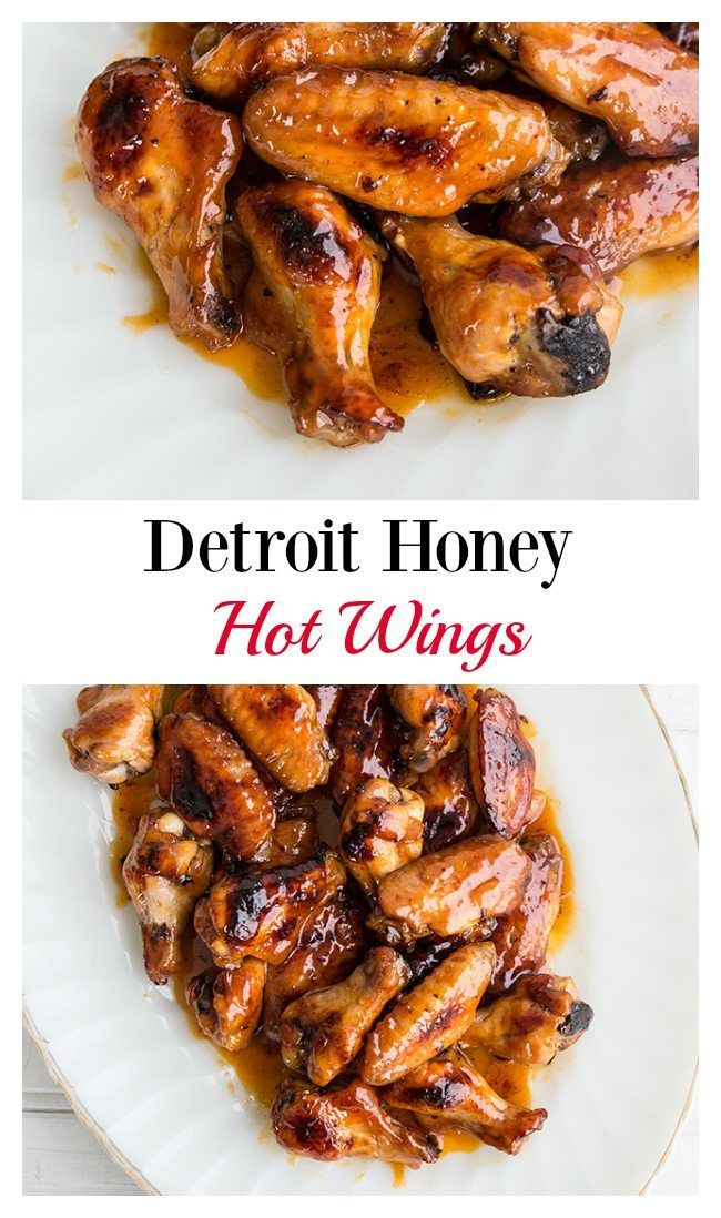 Detroit honey hot wings a fabulous chicken wine recipe best of find this pin and more on best of food bloggers 2015 forumfinder Images