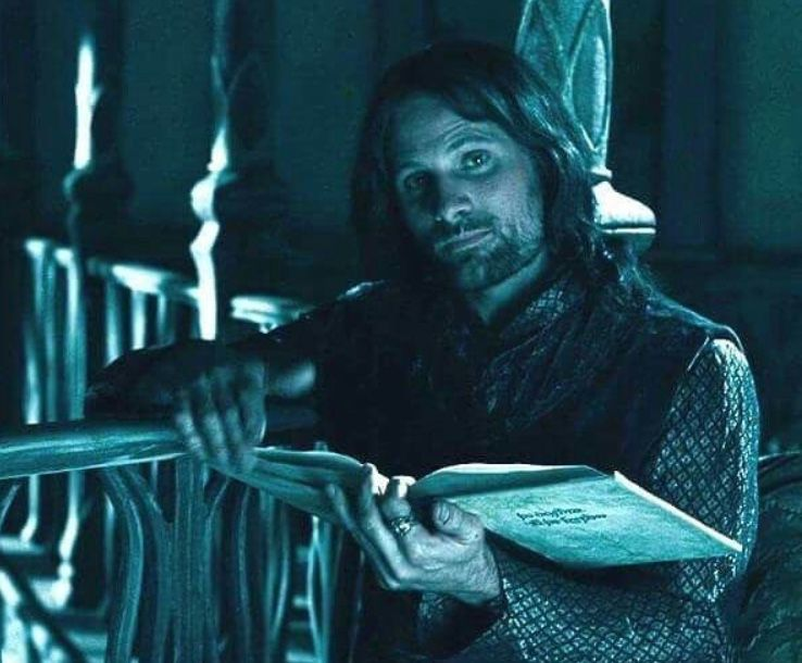 Aragorn in Rivendell | Lord of the rings, Aragorn, The hobbit