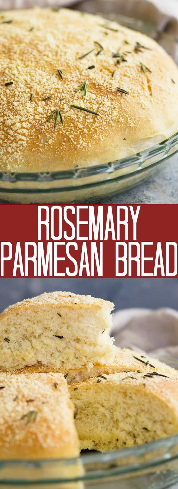 Rosemary Parmesan Bread | Countryside Cravings | Parmesan ...