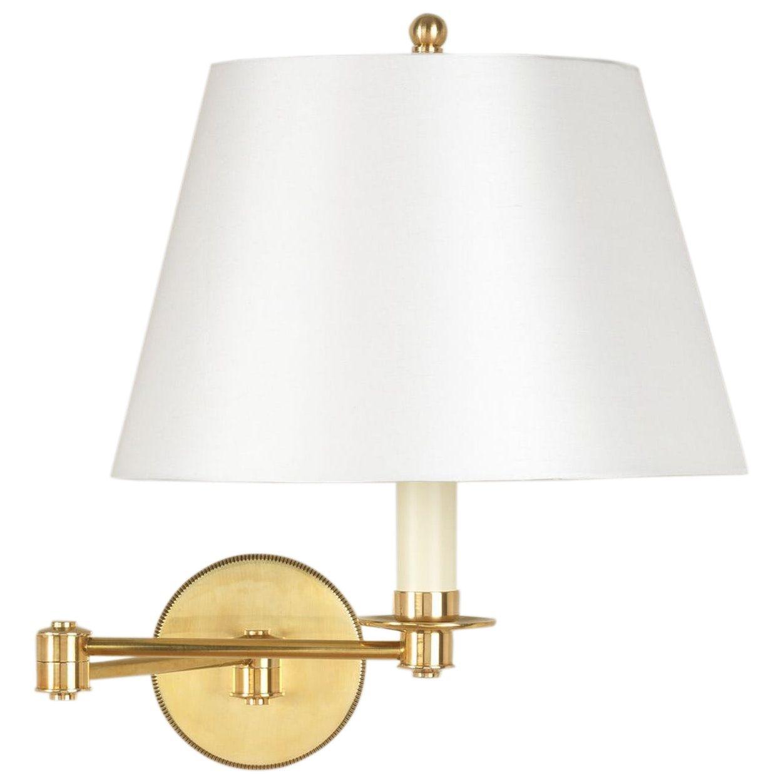 Cromer Swing Arm Wall Light Brass 2 Arm By Vaughan Brass Wall Light Swing Arm Wall Light Wall Lights