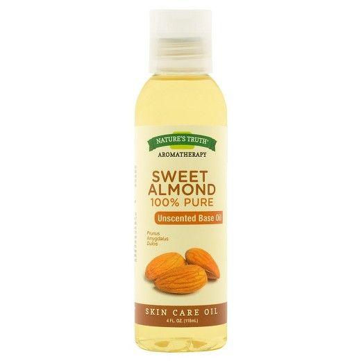 Nature S Truth Sweet Almond Aromatherapy Skin Care Essential Oil 4 Fl Oz Essential Oil Skin Care Aromatherapy Skin Care Almond Oil Uses