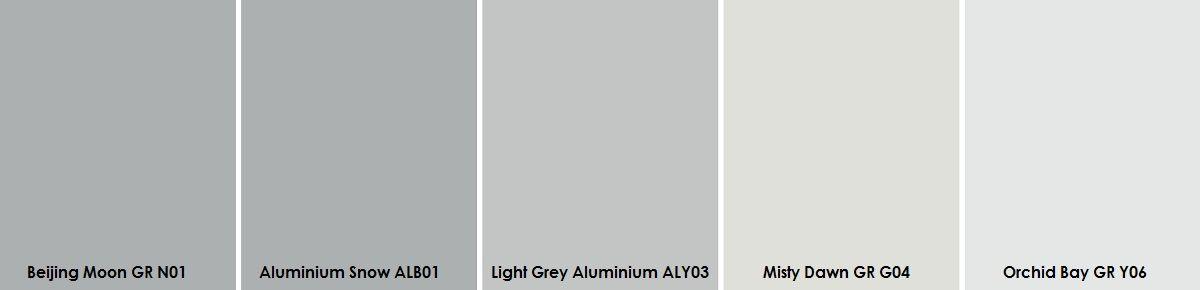 Plascon Light Greys Paint Sample | Grey - Plascon Colour ...