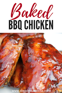 The Best Baked BBQ Chicken (EVER) images