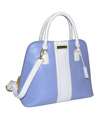 This Blue Dome Satchel By Adrienne Vittadini Is Perfect Zulilyfinds