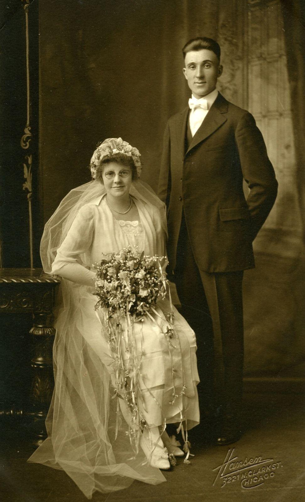Vintage 1900 Wedding Photo | Novias | Pinterest | Alte fotos ...