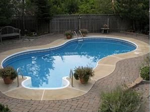 Pavers around inground pool google search pool pinterest pool landscaping pool pavers Diy resurfacing concrete swimming pool deck ideas