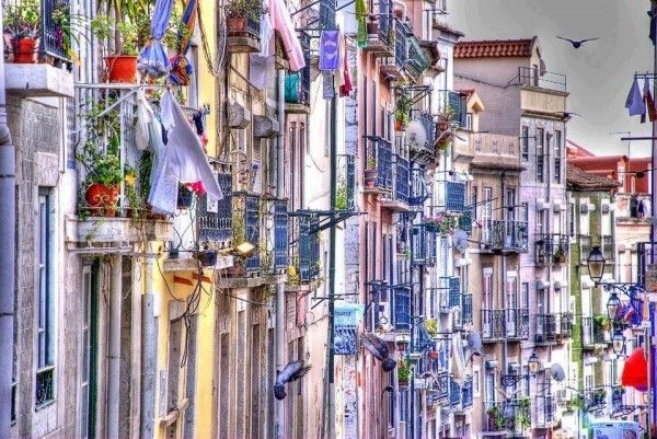 Bairro Alto de Lisboa, Portugal by Victor Nuno