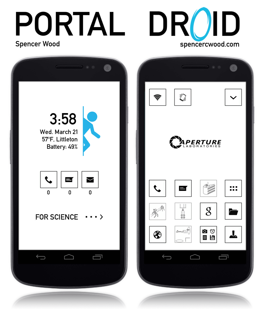 Androidportal android portal theme | android theme, portal, android